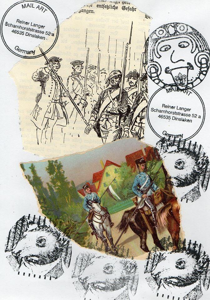 """Ausgehende MAIL - ART 2 Projekt AGAINST """" WAR """"   von DODECA ART  Sandra S. Schmidt , DEUTSCHLAND"""