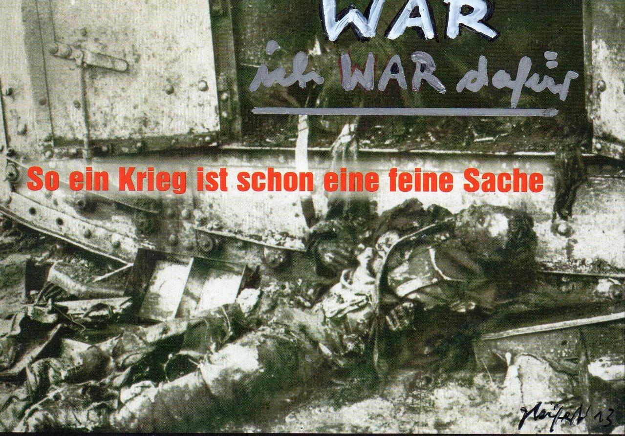 """Eingehende MAIL - ART Projekt """" WAR """" by Reiner Langer   von KUNST KELLER Jörg Seifert , DEUTSCHLAND"""
