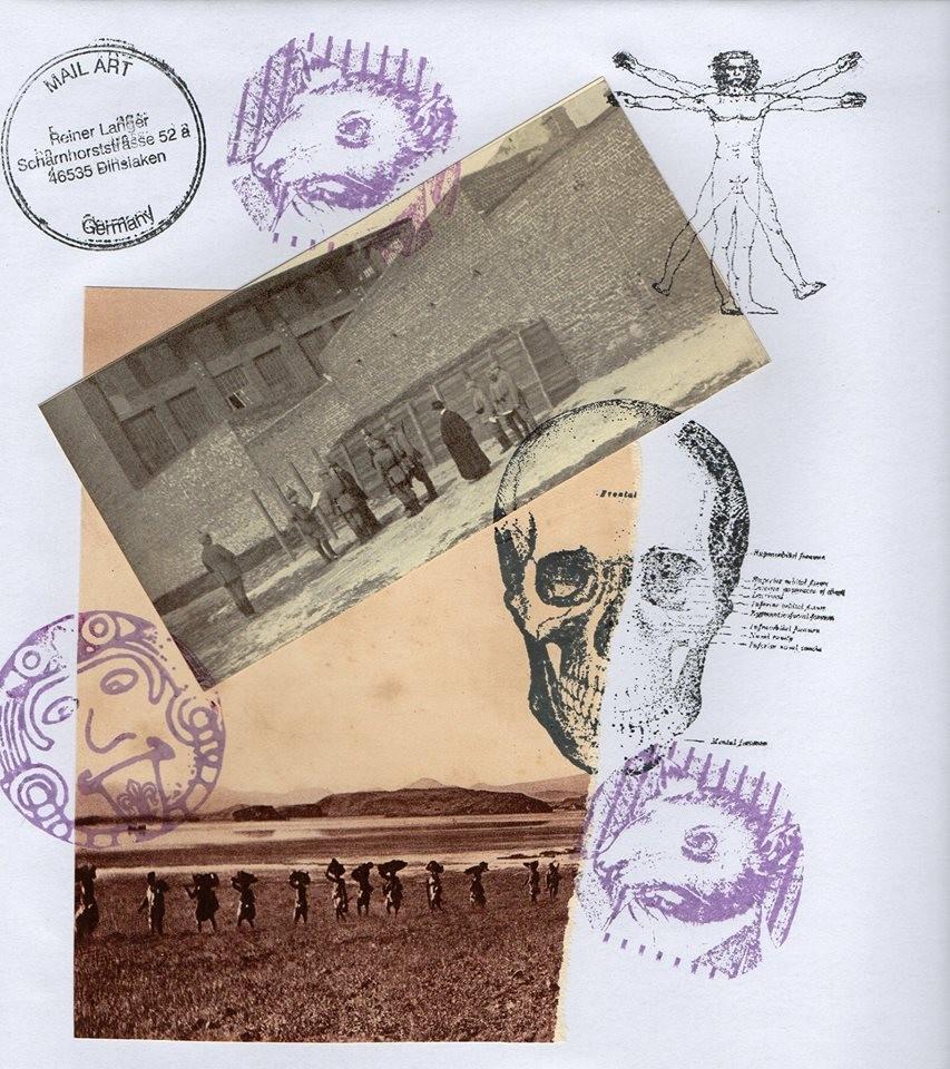 """Ausgehende MAIL - ART Projekt AGAINST """" WAR """" by Reiner Langer   an Sigismund Urban , DEUTSCHLAND"""