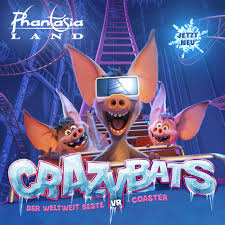 VR -Coaster Crazy Bats (2019)  -> My work:  Idea  Previz  Animation