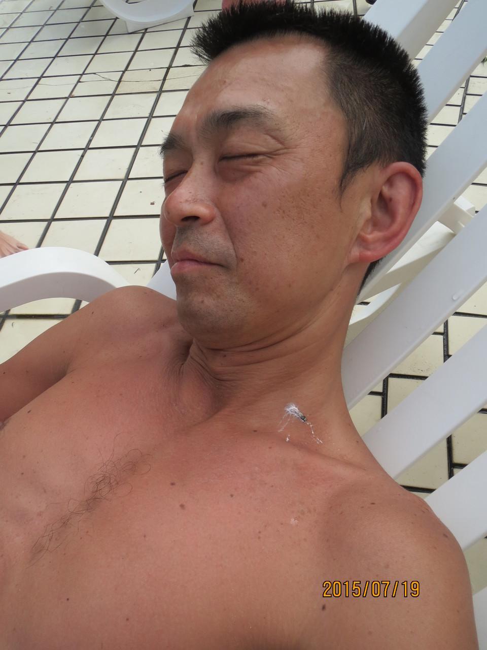 木村さん、ハトのフン付いてますよ