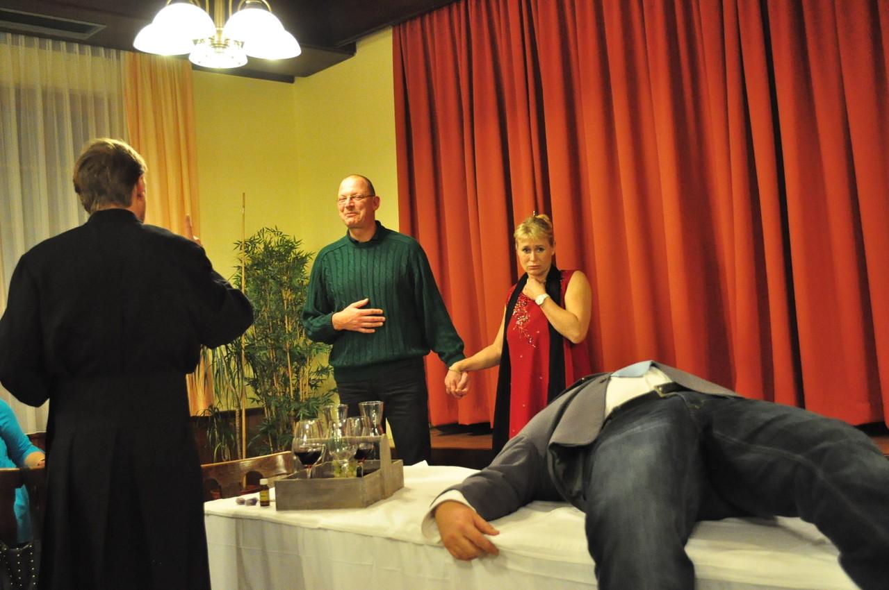 Gäste durften auch mitspielen.