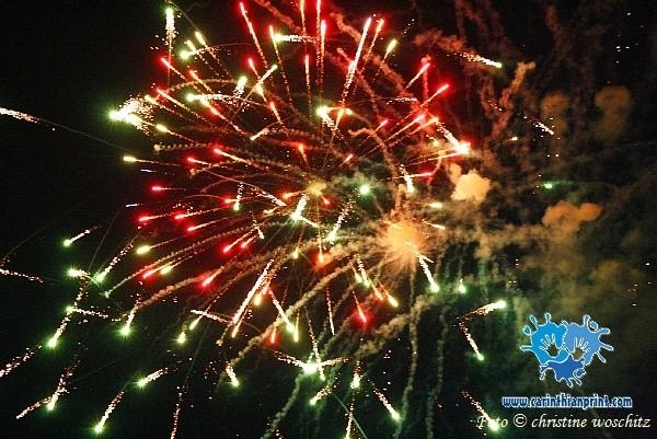 Das Feuerwerk war ein Traum - danke an Firma PINTO