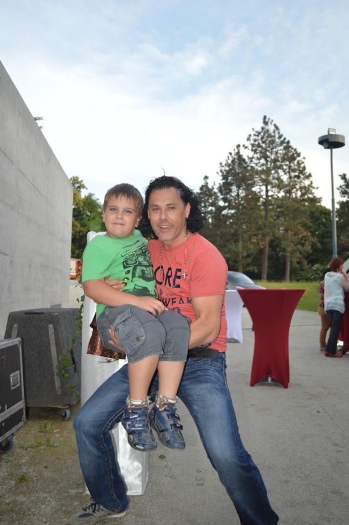 Julian, mein Sohn mit Christian von Steirerbluat