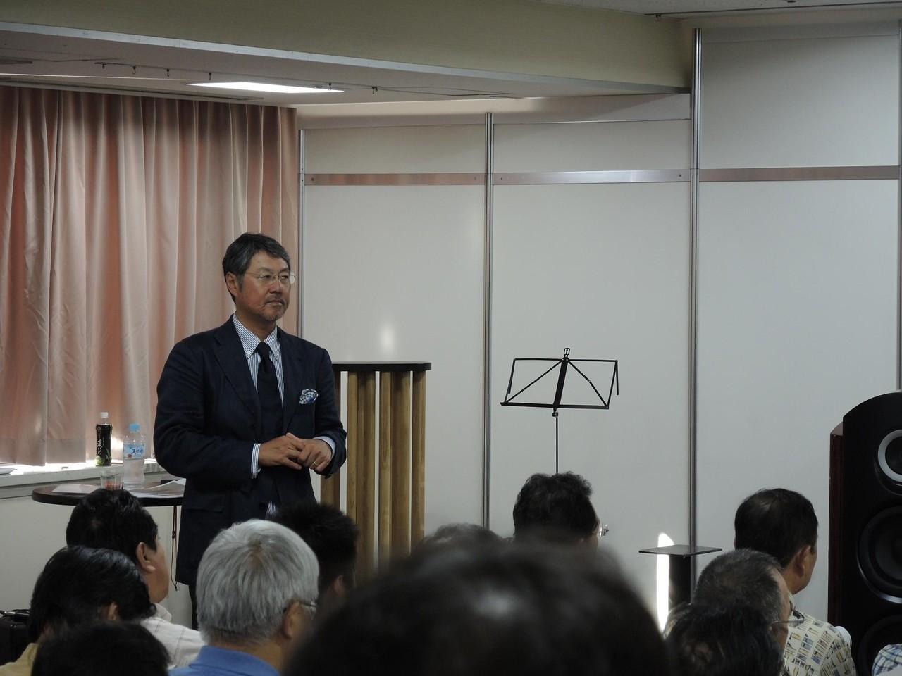石原先生の講演