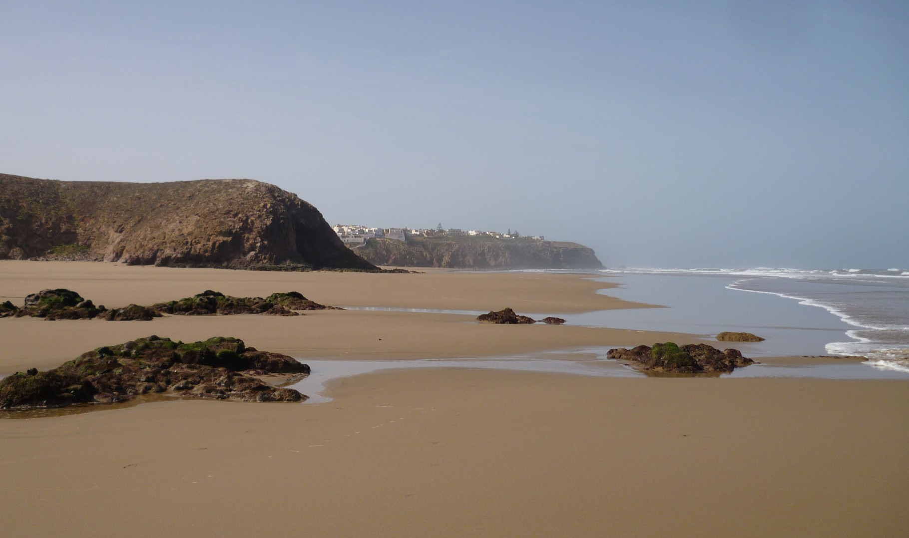 MIRLEFT BEACH,  MAY 2016 at low tide