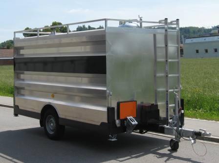 Tankrevisionsanhänger Chassis und Tank / Individuell nach Kundenwunsch