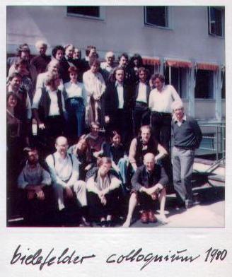 Bielefelder Colloquium 1980 (mit Friederieke Mayröcker u.a,)