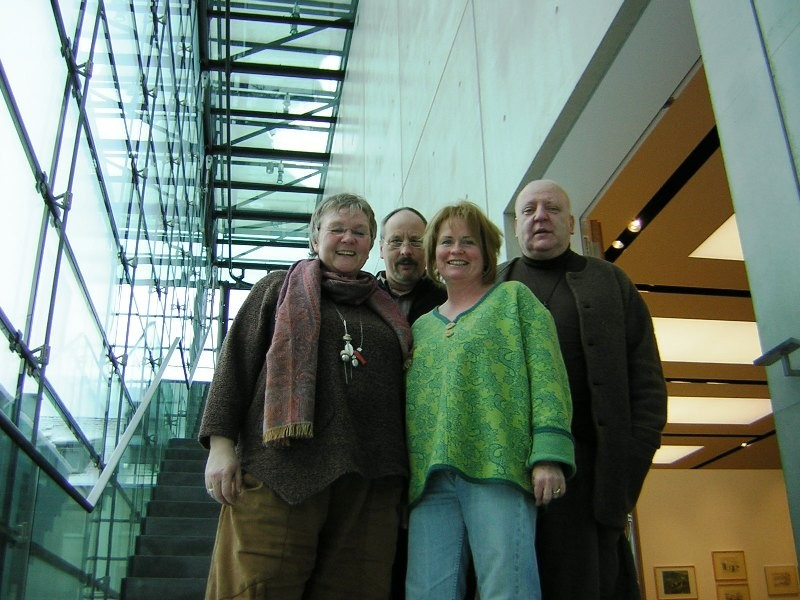 Dagmar Sollmann, Ulli Welling, Gabi Welling & Louis Flamel