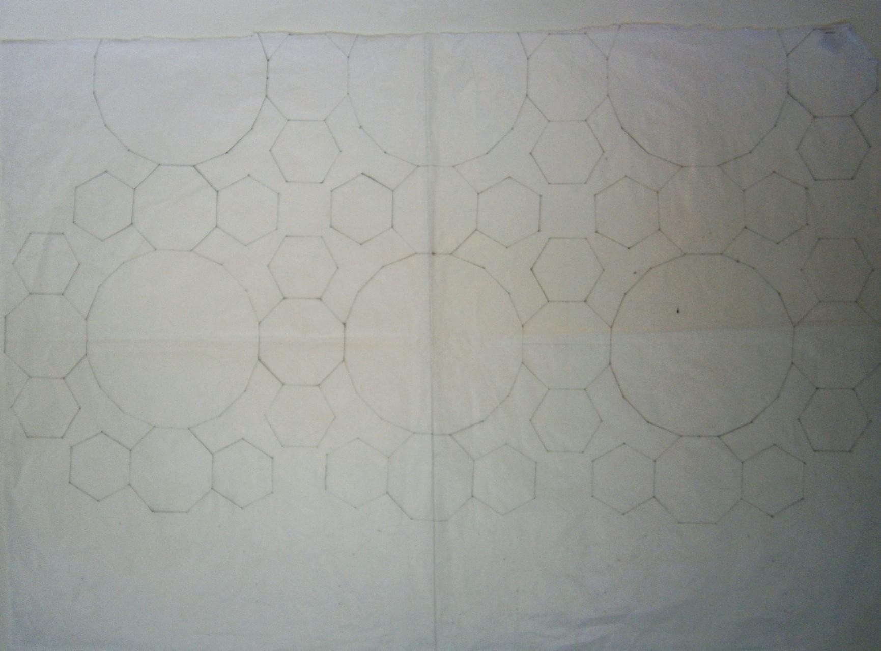 Marten gebruikte een bijzonder basispatroon. hieruit ontstond . . .