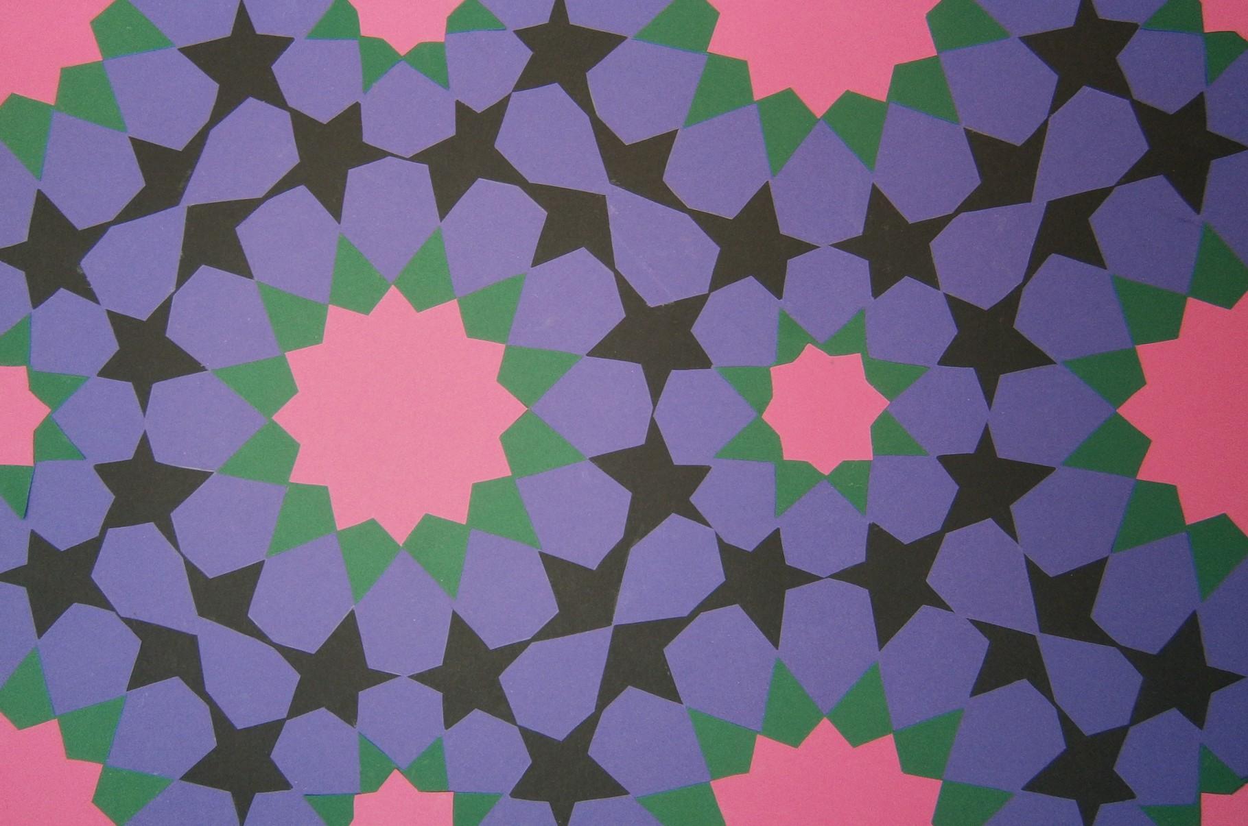 Mozaiek met een warme nachtelijke uitstraling
