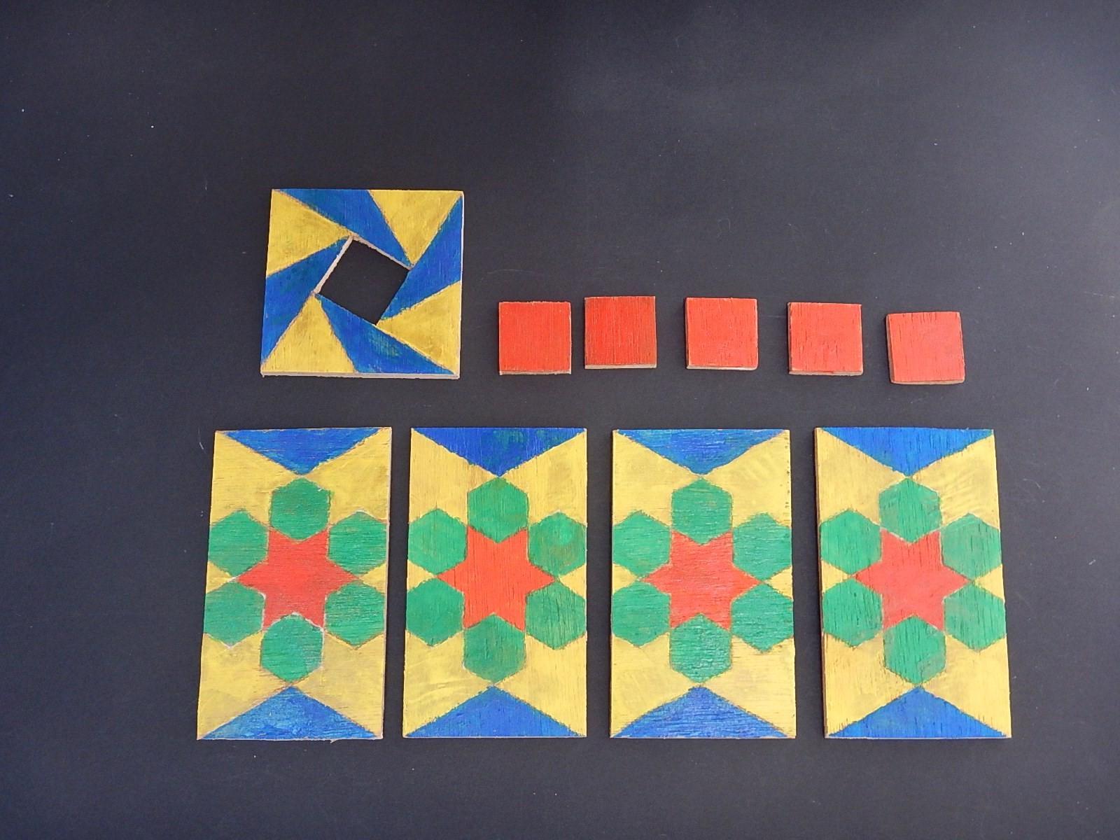 Puzzel van triplex