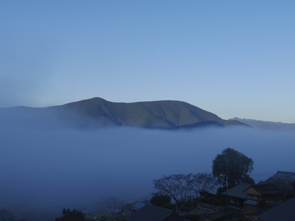 紀和町はよく雲海の見れる地域で有名です。