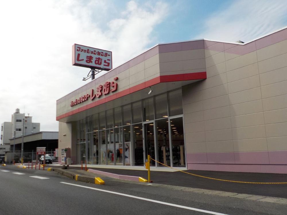 衣料品店なども国道沿いにあります。
