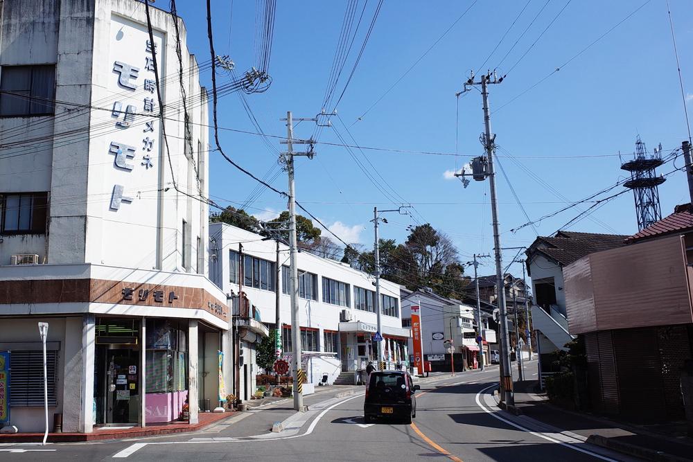 井戸町の街並みです。