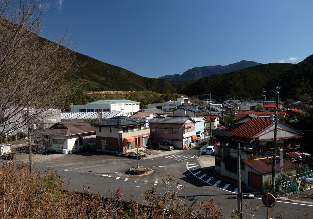 紀和町入鹿地区の風景です。