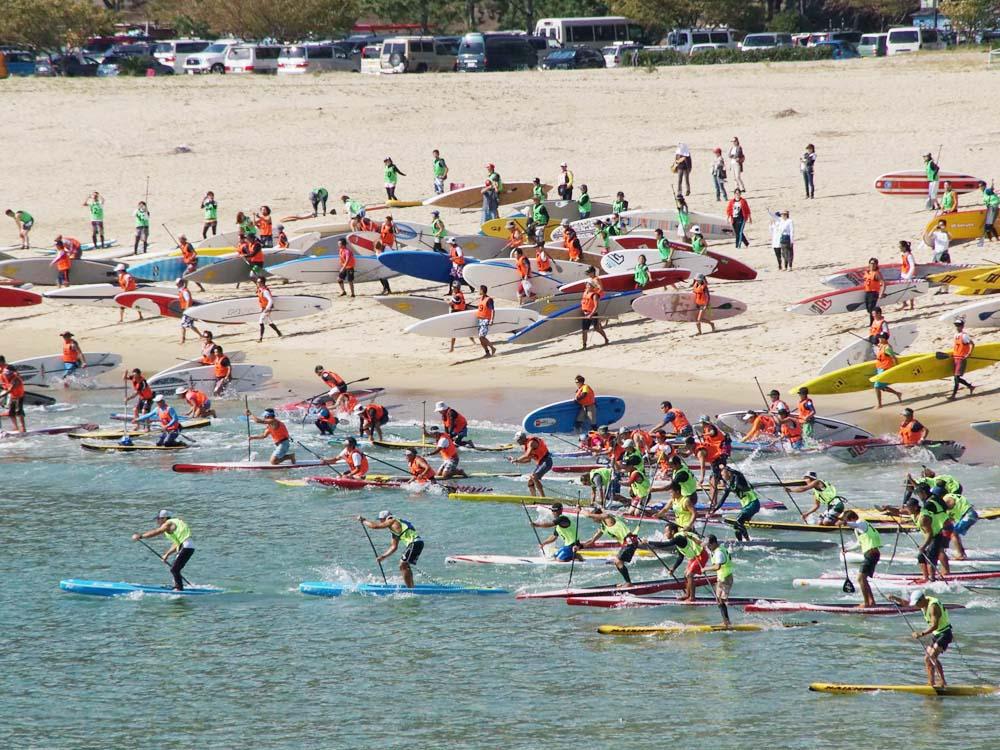マリンスポーツの大きな大会なども開かれます。