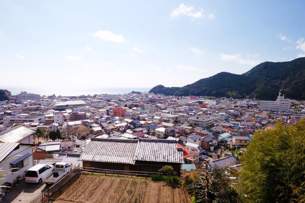 井戸町の景色です。
