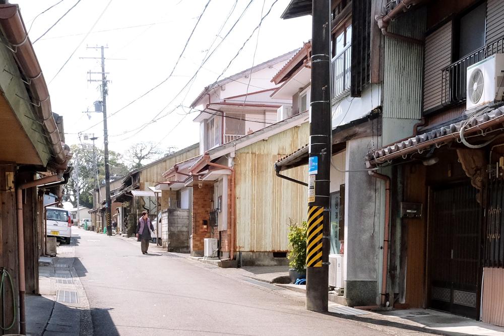木本町には昔ながらのまちが残っています。