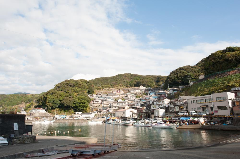 磯崎は漁師町なので船が身近な存在です。