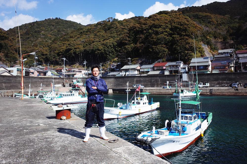 熊野市では新規に漁師になりたい方への応援制度があります。