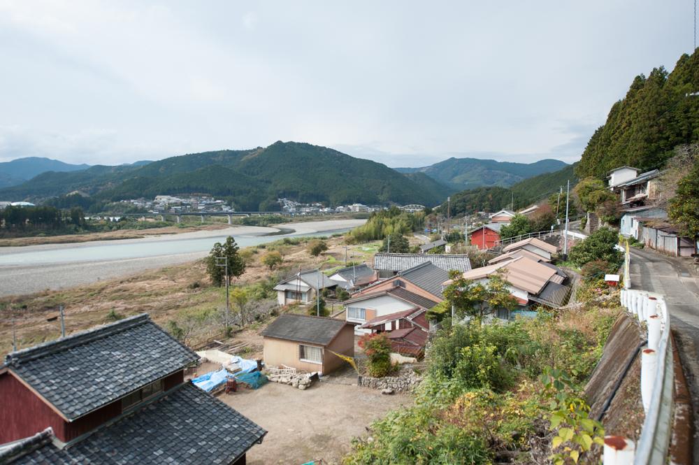 紀和町上川地区の景色です。