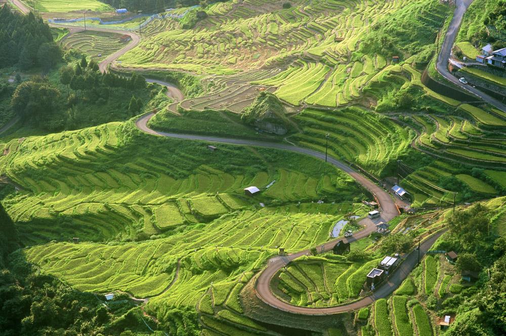 紀和町は棚田が有名で、丸山千枚田などがあります。