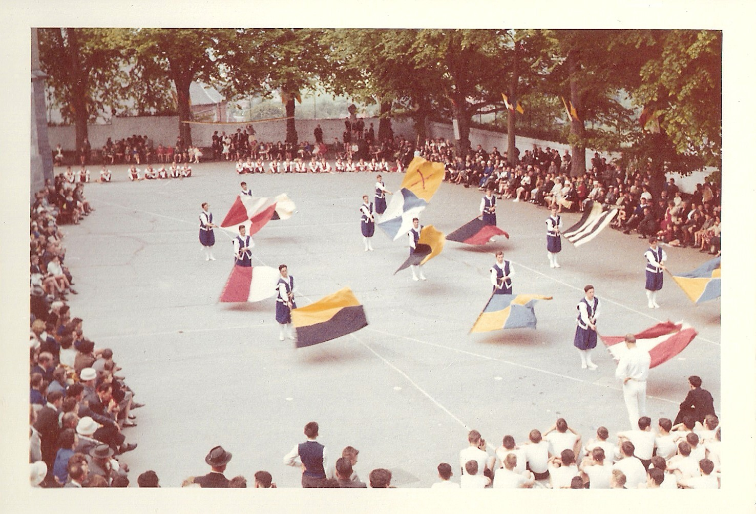 Fête de la gymnastique 1961 (site www.semflo.be)