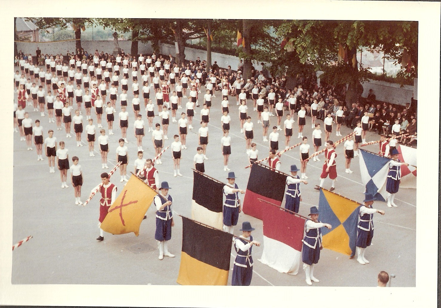 Fête de la gymnastique 1961 collège de Floreffe