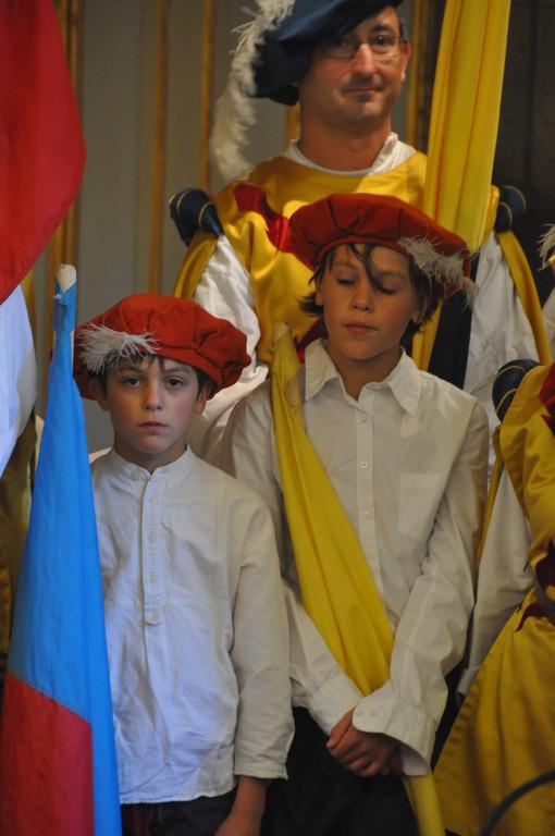 Nos deux juniors Alexandre et Gabriel