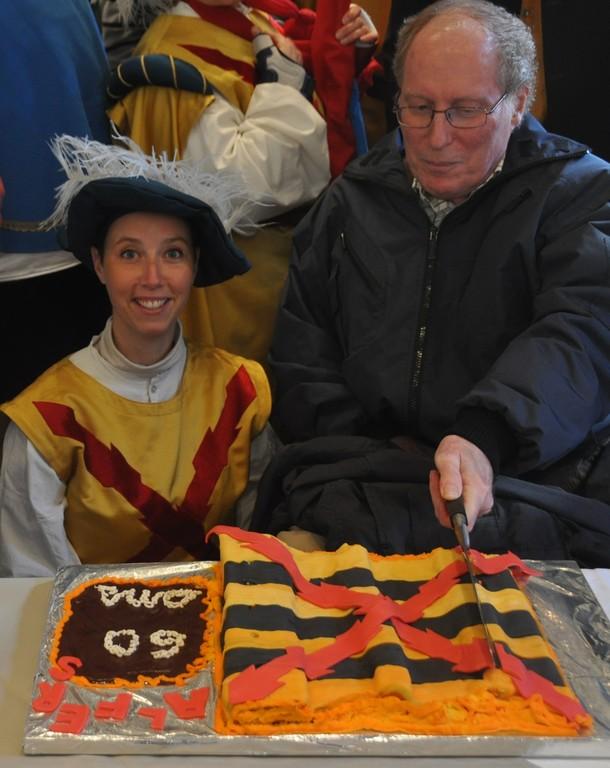 Le gâteau aux couleurs des Alfers