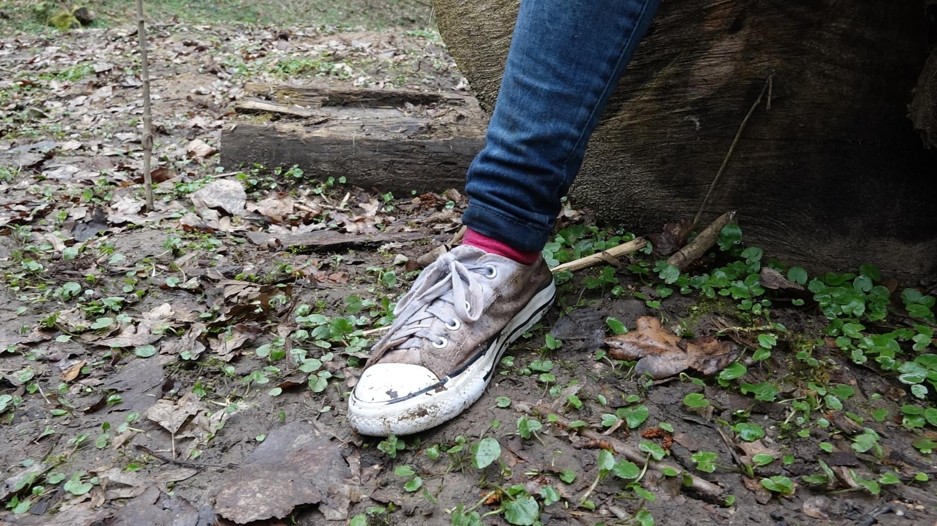 Ups, da ist heute zu Hause noch Schuhe putzen angesagt.
