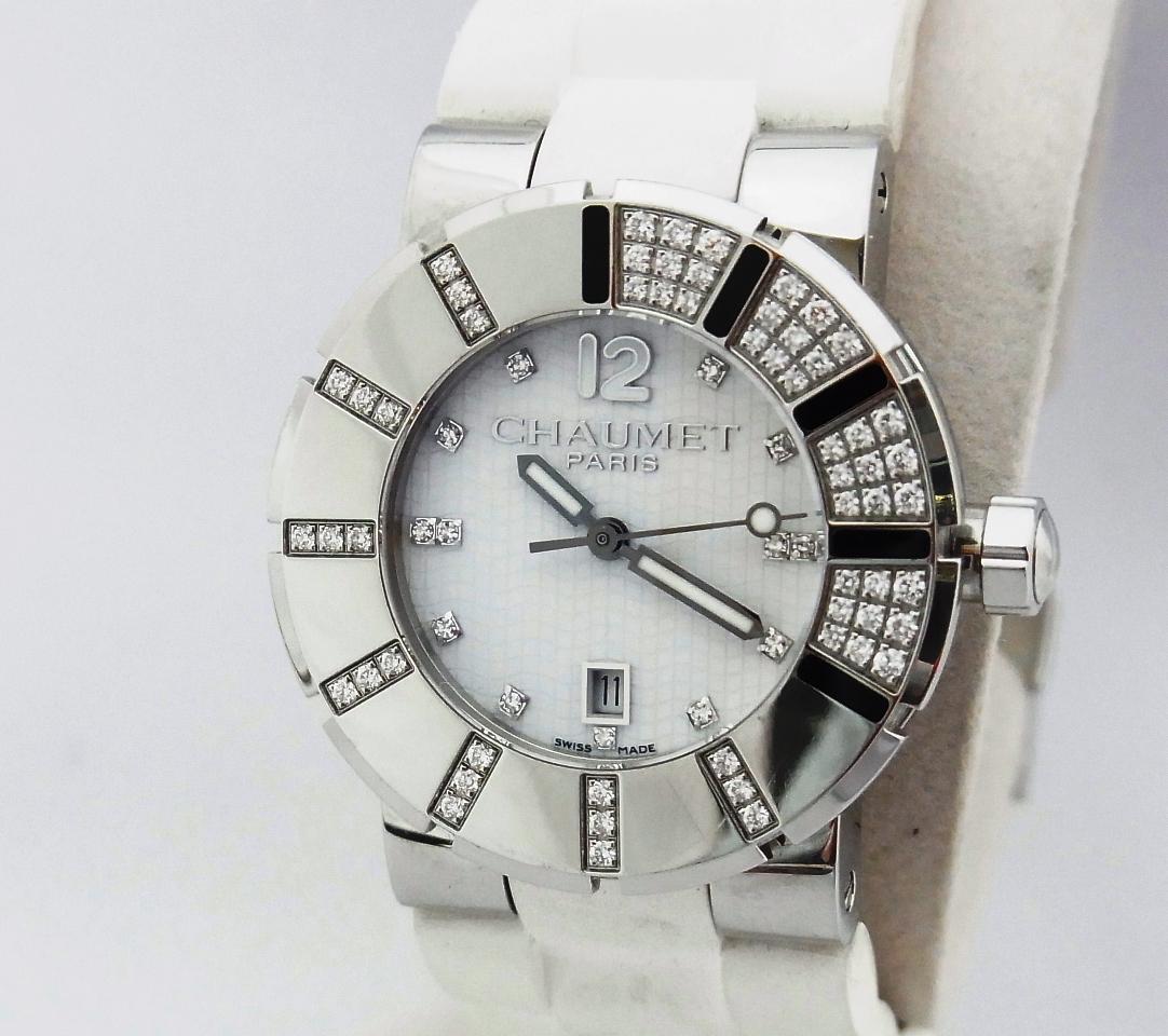 ショーメイ 腕時計 ダイヤ