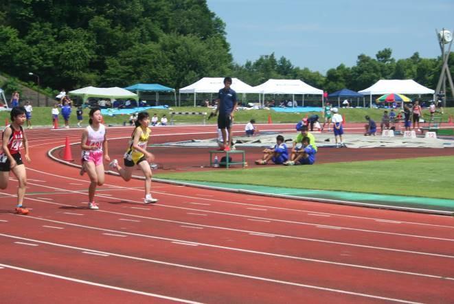 3年女子100m