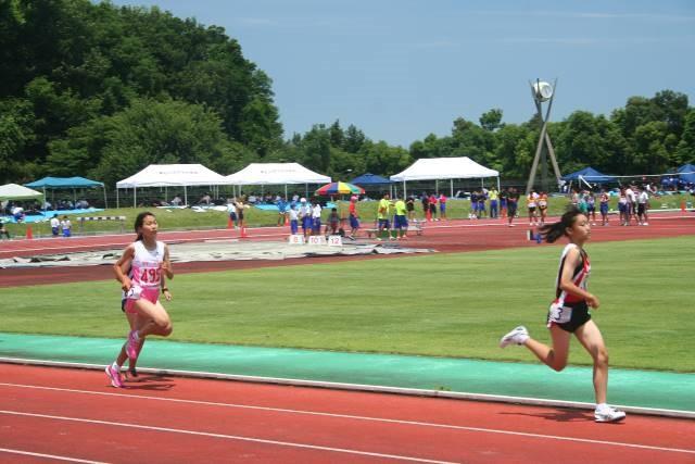 1年女子800m2位 県大会出場