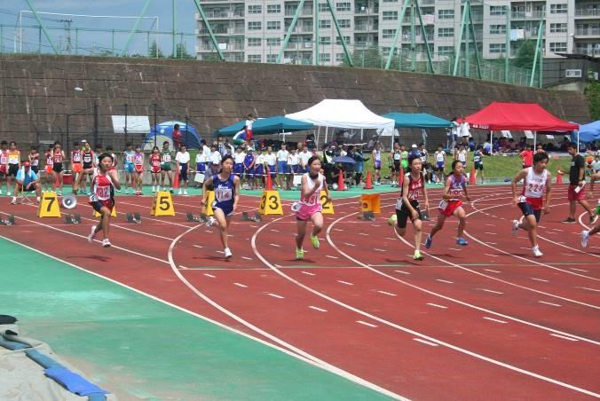 1年女子100m
