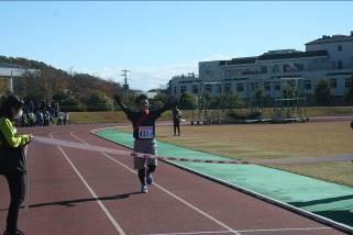 桜山小学校職員との合同チームのゴール