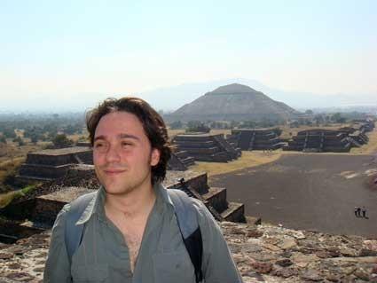 En Teotihuacán, México