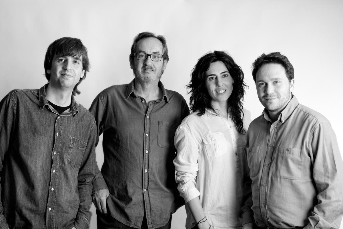 Con Fernando Valverde, Javier Bozalongo y Raquel Lanseros (Foto de Javier Bozalongo)