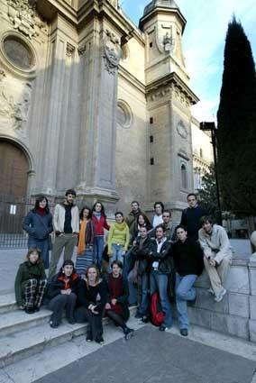 Participantes de Granada Ojos del Sur.