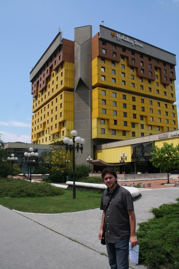 Holiday Inn Sarajevo, el hotel de la prensa durante el asedio a la ciudad.