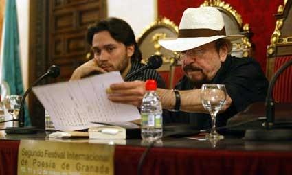 Con Juan Carlos Rodríguez
