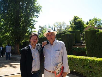 Con Waldo Leyva