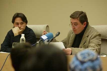 Con Luis García Montero
