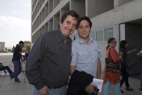 Con Luis García Montero.