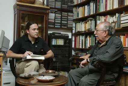 Con Rafael Guillén