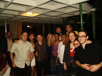 En casa de Blanca Castellón, en Managua