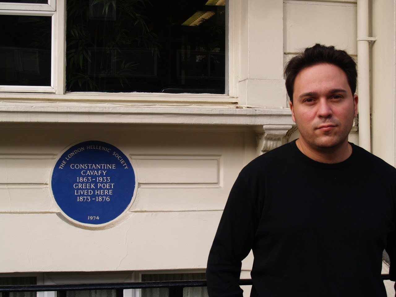 En Londres, en la casa de Kavafis