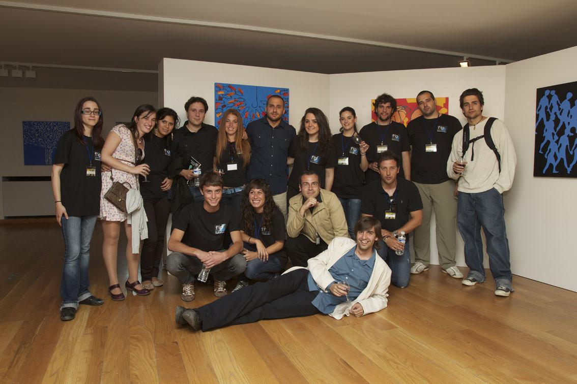Equipo del Festival Internacional de Poesía de Granada