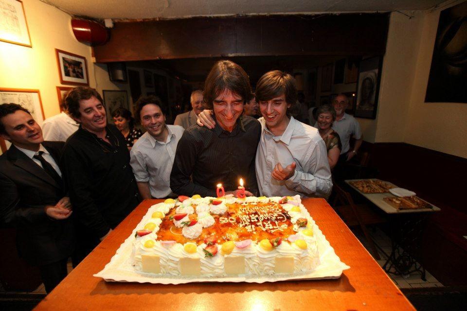 Cumpleaños 50 de Benjamín Prado, en La Tertulia (Granada)